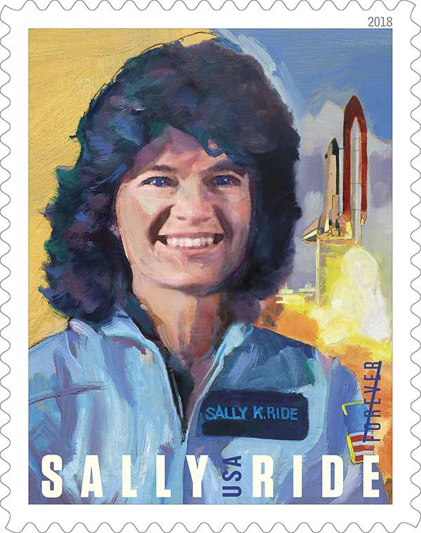Sally Ride forever stamp