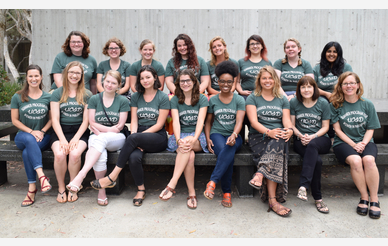 group shot of the Summer Program for Women in Philosophy participants
