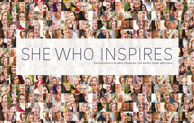 She Who Inspires book cover art